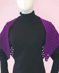 Purple Sport Shawl
