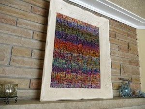 Crochet Yarn Painting