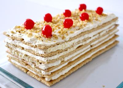 Heavenly Layers Pineapple Cake
