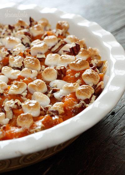 The Lightest Sweet Potato Casserole