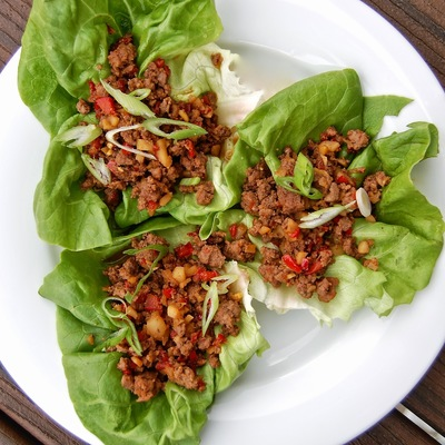 Asian Lettuce Wraps | FaveGlutenFreeRecipes.com