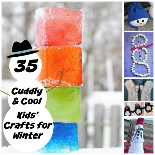35 Cuddly and Cool Kids' Crafts for Winter