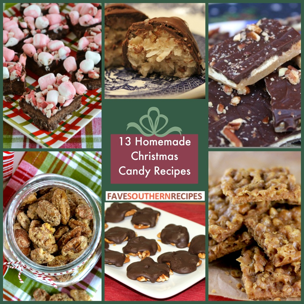 13 homemade christmas candy recipes for Traditional christmas candy recipes