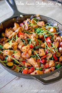 Paleo Asian Chicken Stir Fry