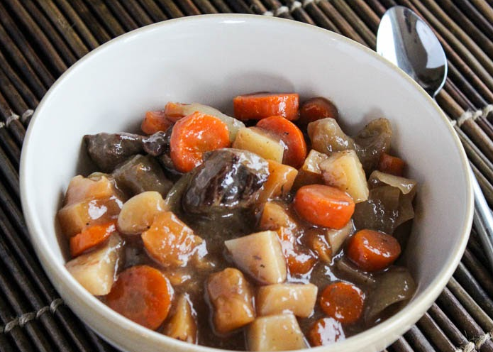 Slow Cooker Irish Beef Stew | AllFreeSlowCookerRecipes.com