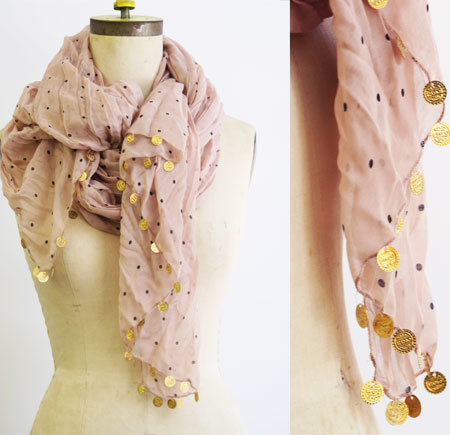 3 Ways to Embellish Your Scarf