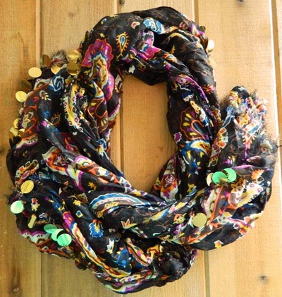 Shimmer and Shine Sequined Scarf