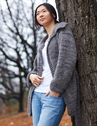 Free Easy Cardigan Knitting Patterns : 22 Super Cozy Knit Sweater Patterns AllFreeKnitting.com