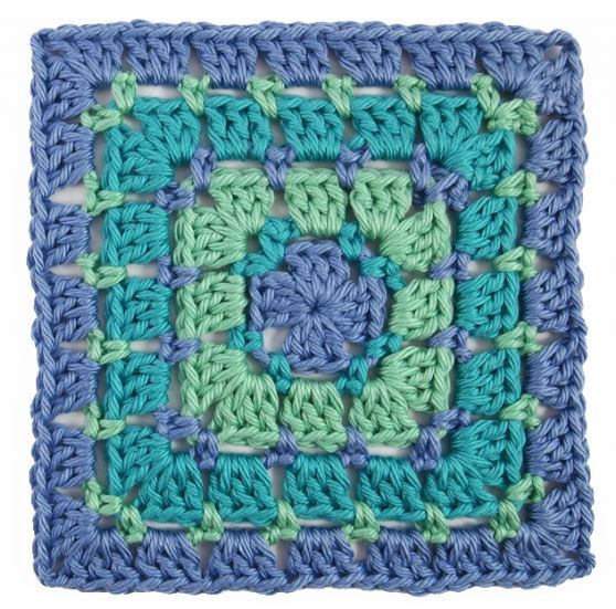 Crochet Easy Granny Square Patterns : Block Stitch Crochet Granny Square ...