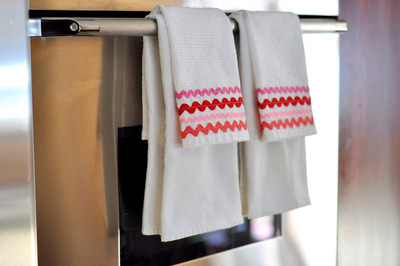 Rick Rack Dish Towels