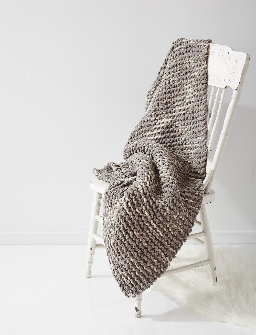 Temperature Afghan Knitting Pattern : Stormy Weather Blanket AllFreeKnitting.com