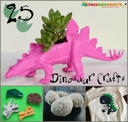 Crafts for Boys: 22 Awesome Dinosaur Crafts for Kids