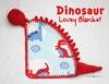 Dinosaur Lovey Blanket
