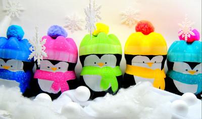 Precious Plastic Penguins