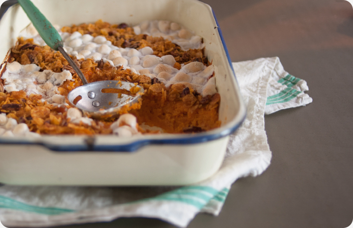 Traditional Sweet Potato Casserole