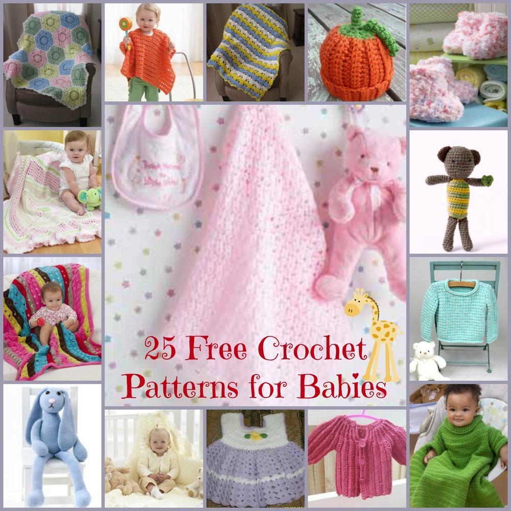 Free Crochet Patterns for Babies FaveCrafts.com