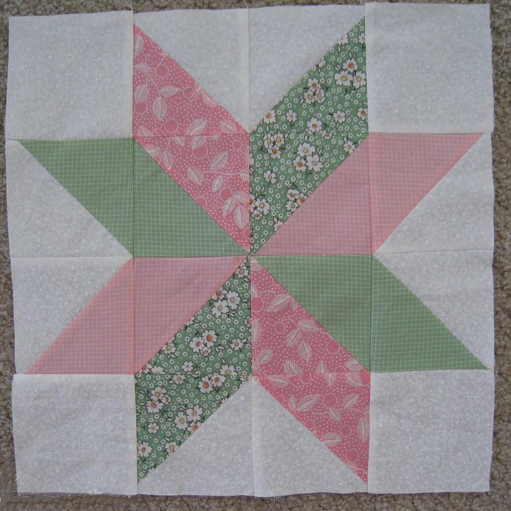 Star Flower Quilt Block Favequilts Com