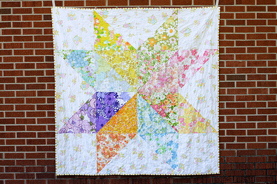 Giant Starflower Quilt Pattern