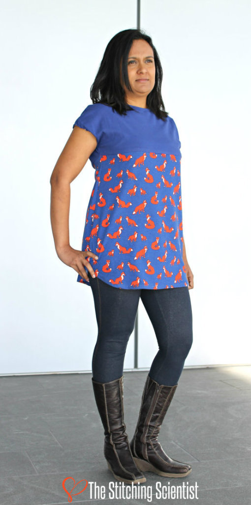 How to make a tunic colorblocked allfreesewing com