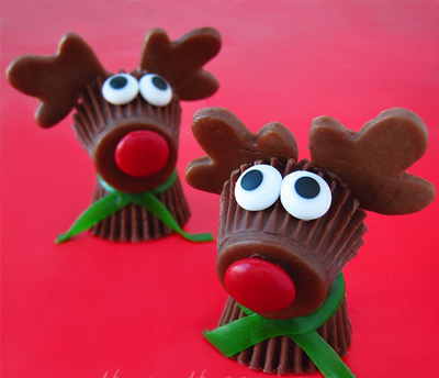 Rudolph the Red Nosed Reindeer Treats
