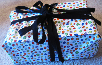 Reusable Fabric Wrapping Paper