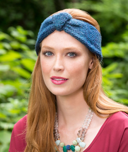 Moonlight Buttoned Headband
