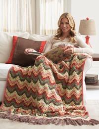 26 Free Crochet Ripple Afghan Patterns
