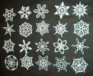 Six-Pointed Snowflake Tutorial
