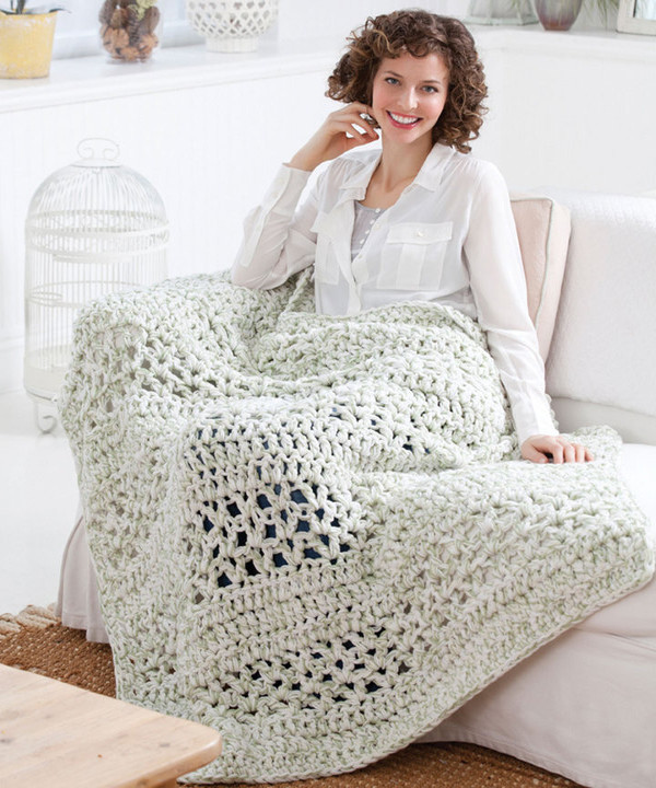 Quick Crochet : Ridiculously Quick and Easy Crochet Afghan ...