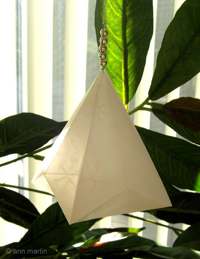Beautiful German Bell Paper Ornament