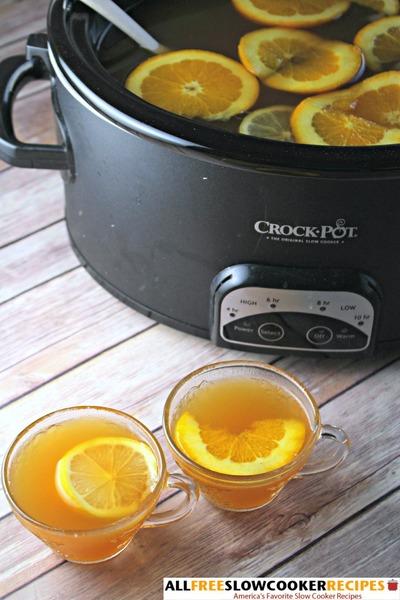 Elegant and Easy Old Fashioned Slow Cooker Apple Cider