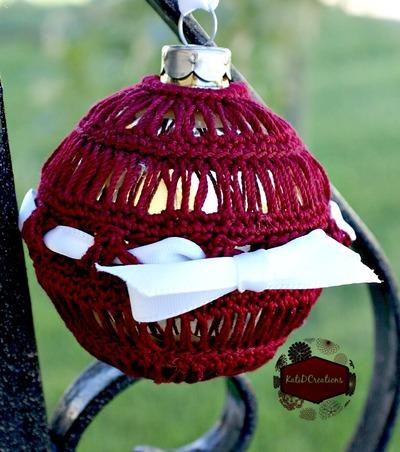 Broomstick lace crochet ornament allfreecrochet com