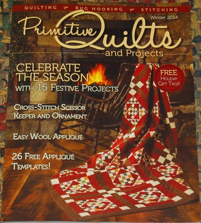 Win a Year's Subscription to Primitive Quilts and Projects!