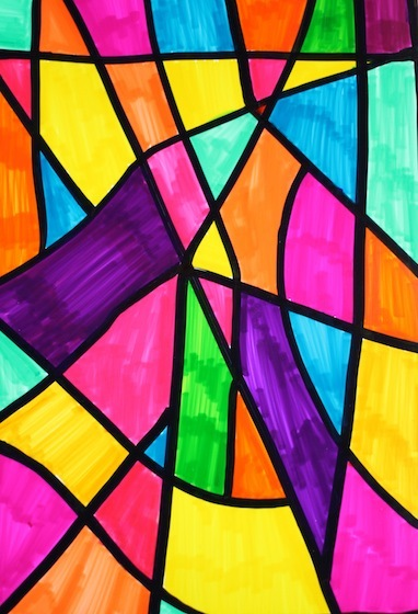 Totally Genius Stained Glass Art Allfreekidscrafts Com