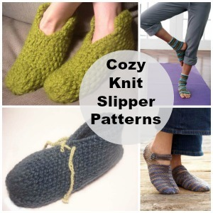 Cozy Knitted Slipper Patterns