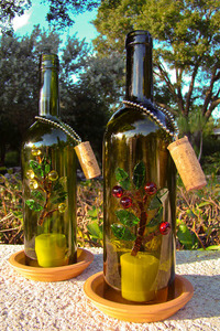 10 Clever Wine Bottle Crafts