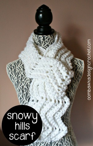Crochet for Spring: 13 Lightweight Scarf Patterns ...