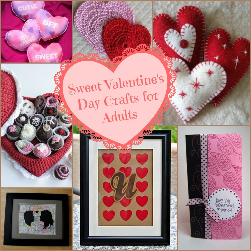 32 Valentines Crafts For Adults Making Valentine Crafts