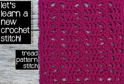 Crochet Stitches Unusual : Unique Crochet Tread Stitch AllFreeCrochet.com