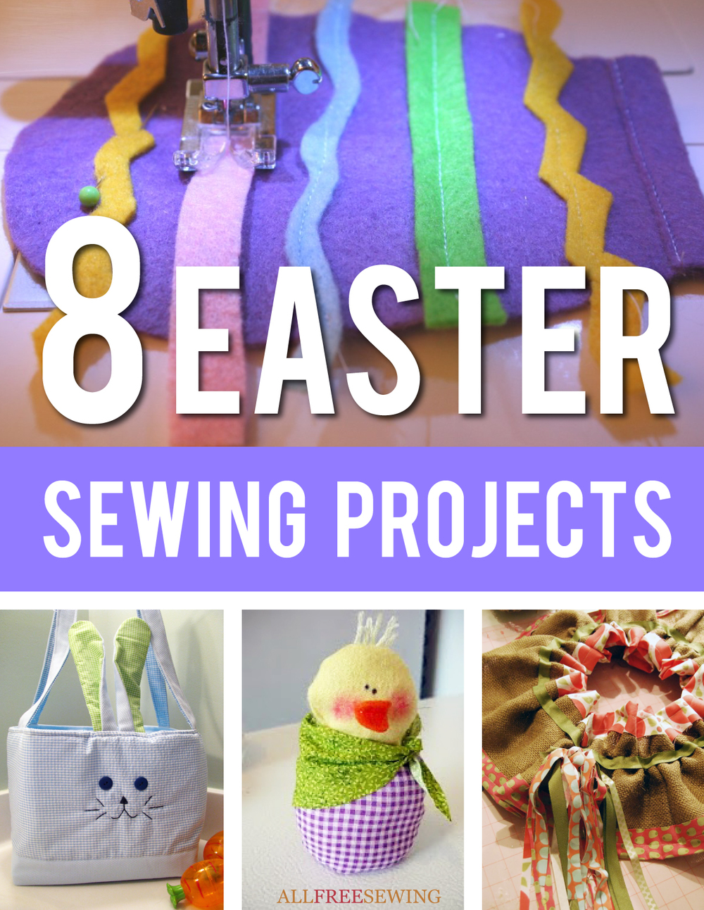 Easter sewing projects quot ebook allfreesewing com