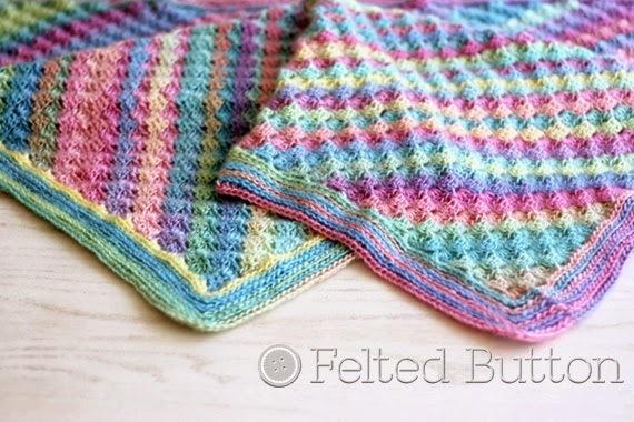 Crochet Pattern For Summer Baby Blanket : Spring into Summer Crochet Blanket Pattern ...