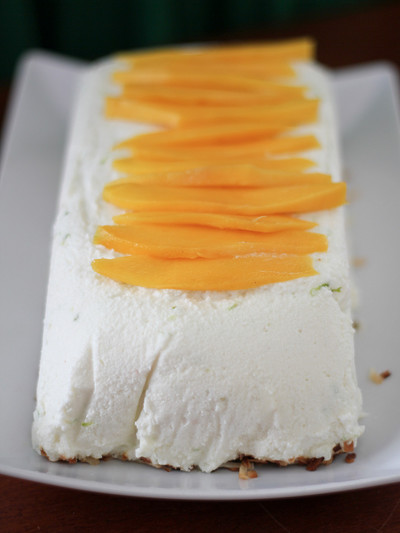 So Simple Coconut Lime Semifreddo