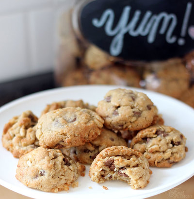 Chocolate Chip Coconut Crunch Cookies Recipe — Dishmaps