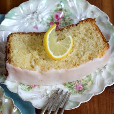 Grandmas Special Lemon Pound Cake