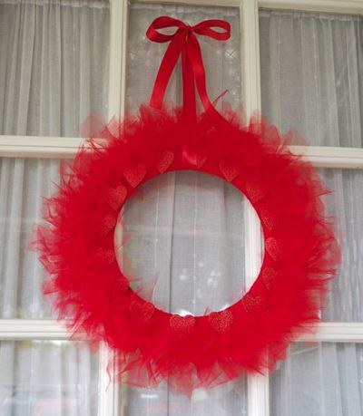 Dollar Store Valentine S Day Wreath Allfreekidscrafts Com