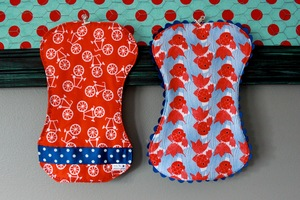 Worlds Best Burp Cloth Tutorial