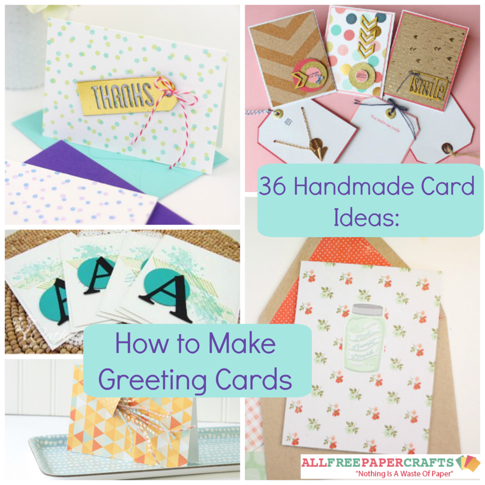 36 handmade card ideas how to make greeting cards for How to make your own christmas cards