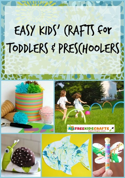 38 Easy Kids' Crafts for Toddlers and Preschoolers