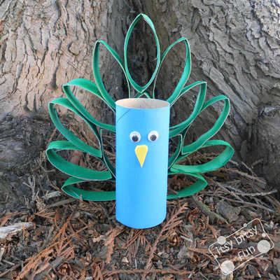Animal Crafts for Kids: 27 Crafts with Toilet Paper Rolls
