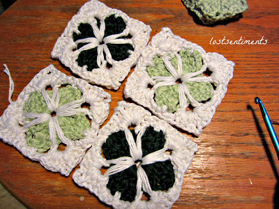 Cathedral Motif Granny Square Crochet Pattern